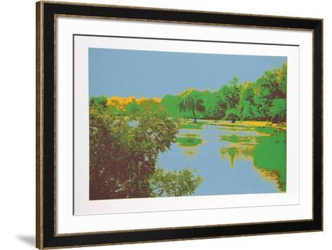 Fishing Hole-Max Epstein-Framed Art Print