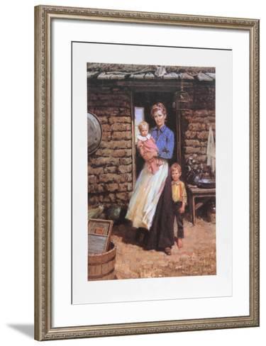 Five Feet Of Backbone-Duane Bryers-Framed Art Print