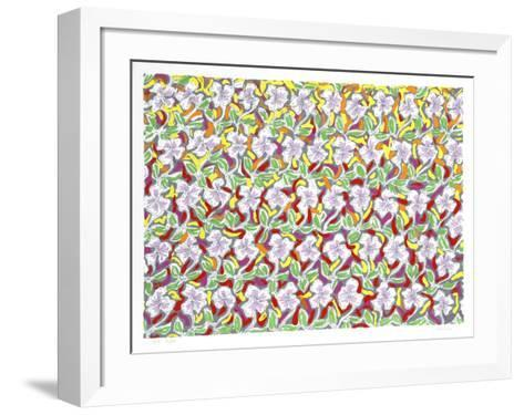 Pattern Field-George Chemeche-Framed Art Print