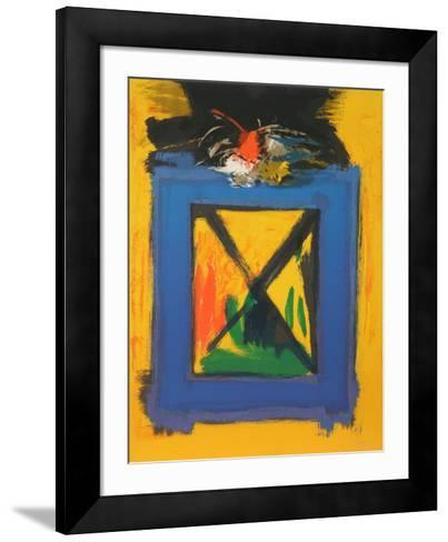 Untitled-Beverly Hyman-Framed Art Print