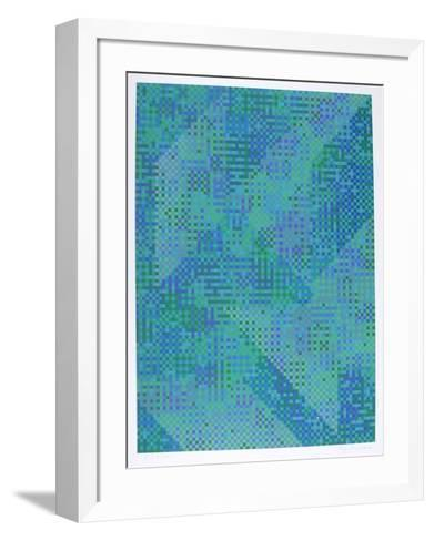 Blue City-Tony Bechara-Framed Art Print