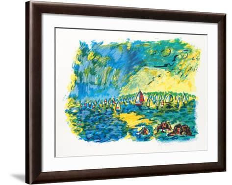 Upwind-Wayne Ensrud-Framed Art Print