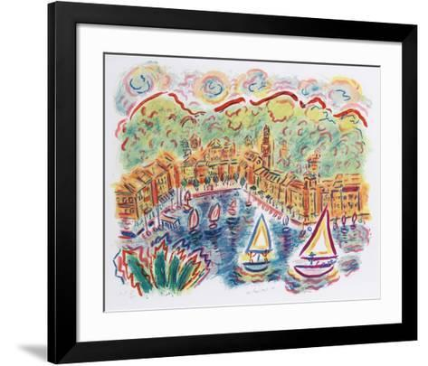 Portofino-Wayne Ensrud-Framed Art Print