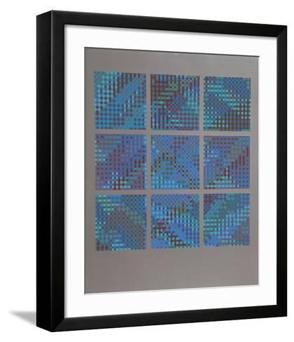 Nines-Tony Bechara-Framed Art Print