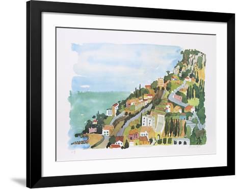 Monaco, Monte Carlo-Jacqueline Fogel-Framed Art Print