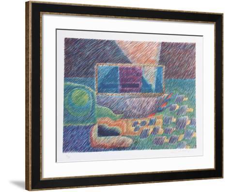 Underwater-Charles Chamot-Framed Art Print