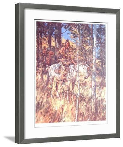 Camouflage-Duane Bryers-Framed Art Print
