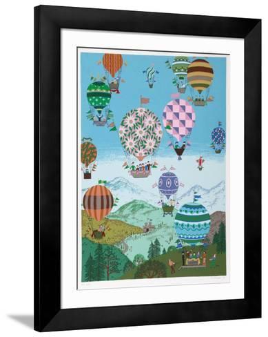 Summer Balloons-Jack Hofflander-Framed Art Print