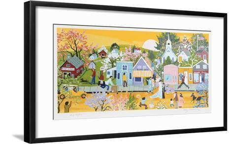Blair's Corner-Kay Ameche-Framed Art Print