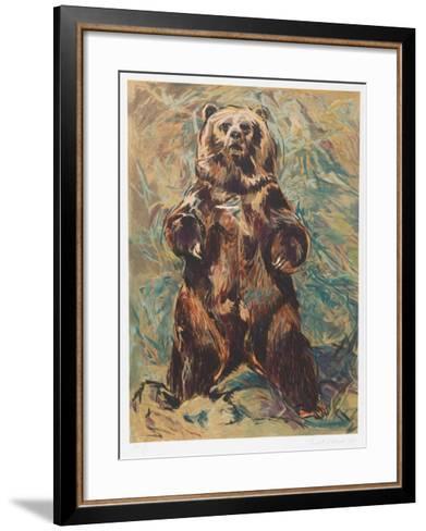 Standing Bear-Everett Hibbard-Framed Art Print