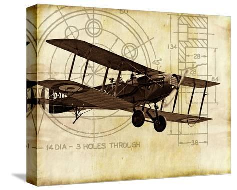 Flight Plans I-Michael Marcon-Stretched Canvas Print