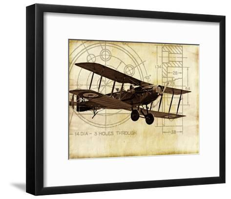 Flight Plans I-Michael Marcon-Framed Art Print