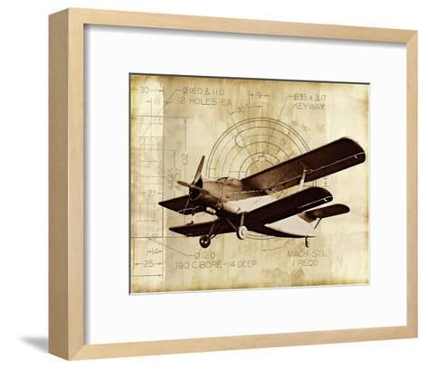 Flight Plans II-Michael Marcon-Framed Art Print
