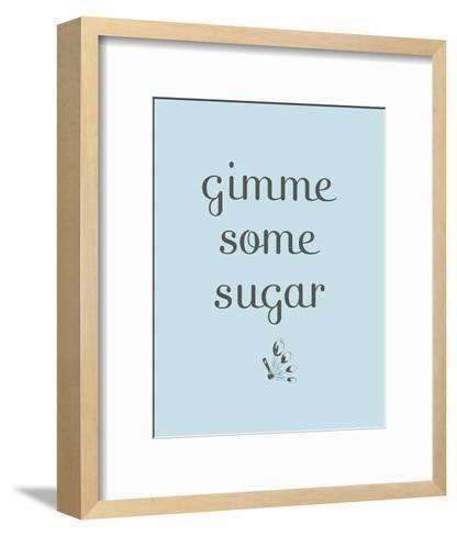 Sugar--Framed Art Print