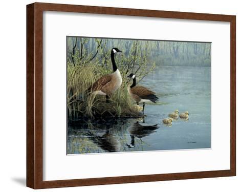 Geese In Spring-Don Li-Leger-Framed Art Print