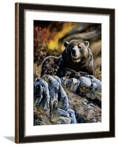 King of the Hill-Andrew Kiss-Framed Art Print