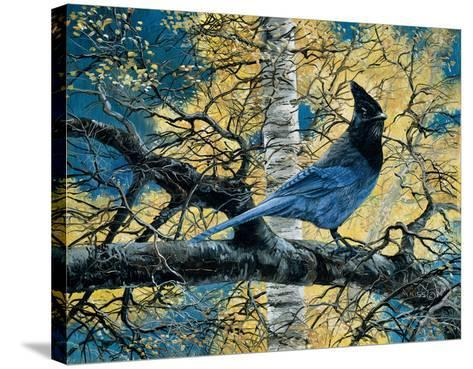 Regal Blue-Andrew Kiss-Stretched Canvas Print