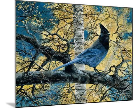 Regal Blue-Andrew Kiss-Mounted Art Print