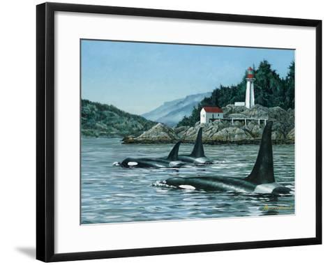 Lighthouse Park-Bruce Muir-Framed Art Print