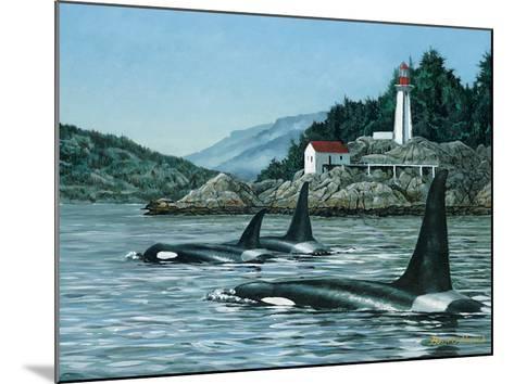 Lighthouse Park-Bruce Muir-Mounted Art Print