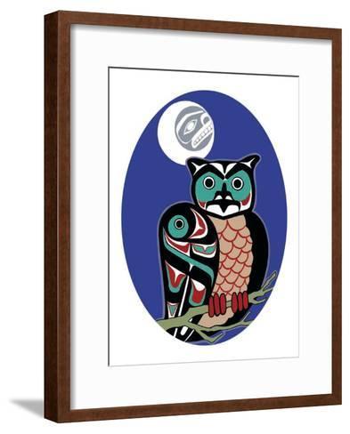 The Night Hunter-Odin Lanning-Framed Art Print