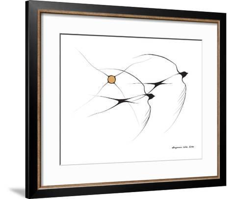 Swallows-Benjamin Chee Chee-Framed Art Print