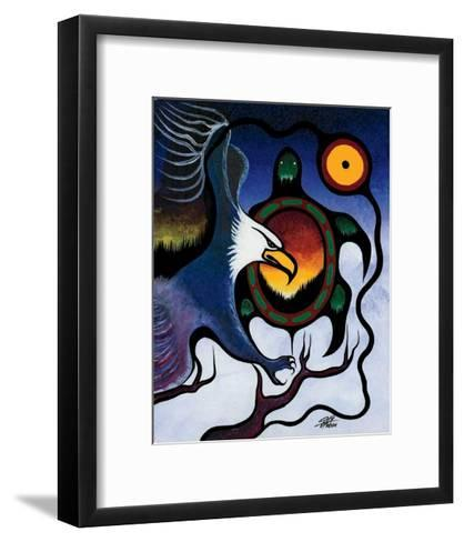 Truth-Frank Polson-Framed Art Print