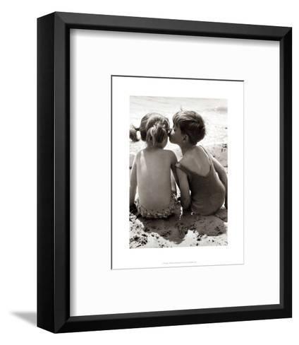 Seaside Romance--Framed Art Print
