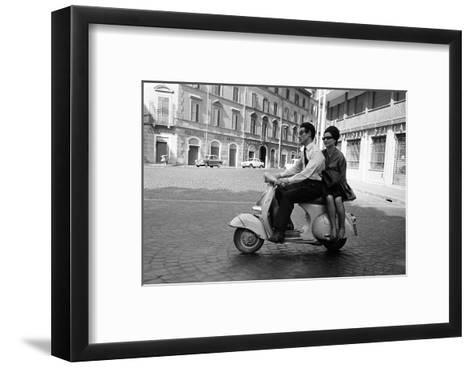 Hitch A Ride--Framed Art Print