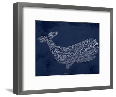 Moby Dick--Framed Art Print