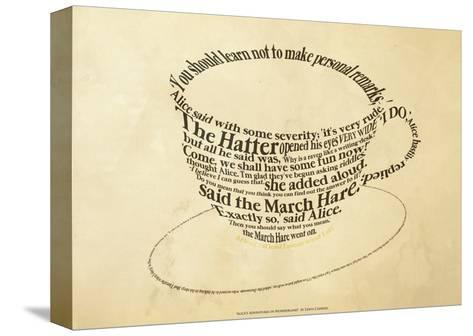 Alice In Wonderland--Stretched Canvas Print