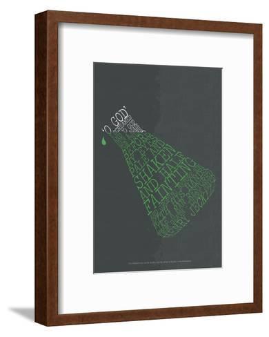 Dr. Jeckyll & Mr. Hyde--Framed Art Print