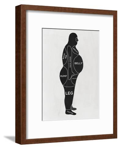 Man--Framed Art Print