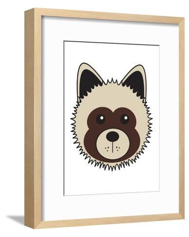 Akita--Framed Art Print