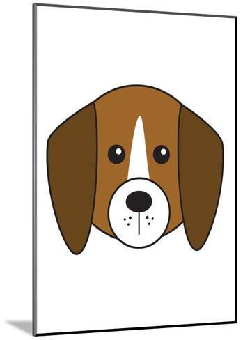 Beagle--Mounted Art Print
