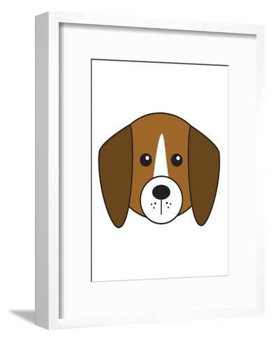Beagle--Framed Art Print
