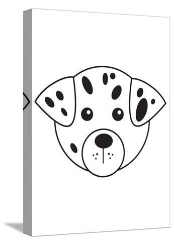 Dalmation--Stretched Canvas Print
