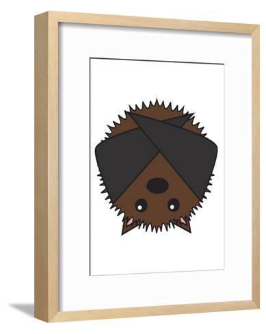 Bat--Framed Art Print