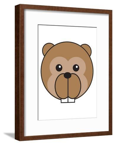 Beaver--Framed Art Print