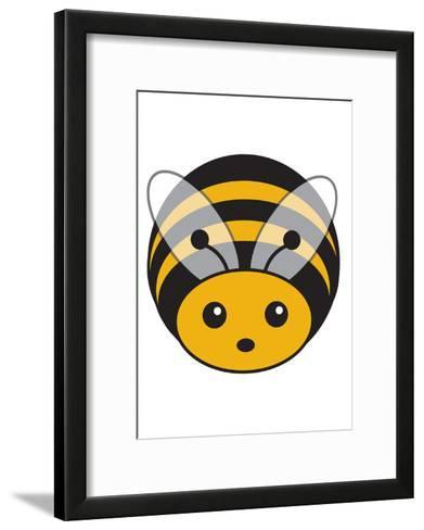 Bee--Framed Art Print