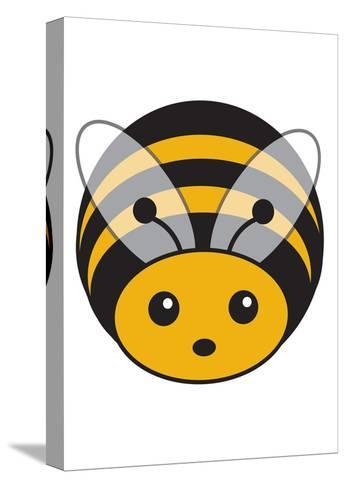 Bee--Stretched Canvas Print