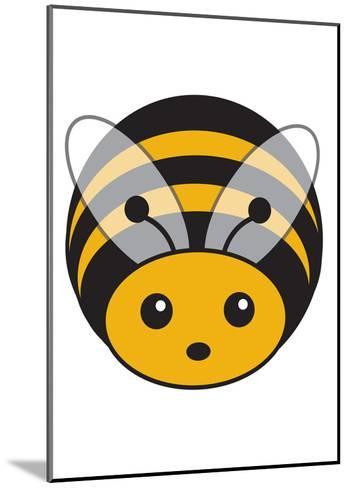 Bee--Mounted Art Print