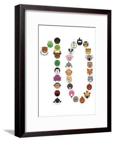 Ten--Framed Art Print