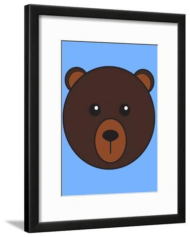 Brown Bear--Framed Art Print