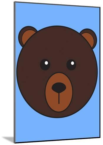 Brown Bear--Mounted Art Print
