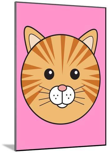 Ginger Cat--Mounted Art Print