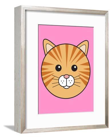 Ginger Cat--Framed Art Print