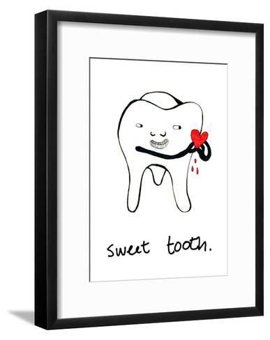Sweet Tooth--Framed Art Print