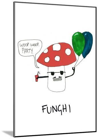 Fungi--Mounted Art Print