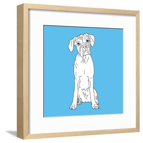 Boxer-Anna Nyberg-Framed Art Print
